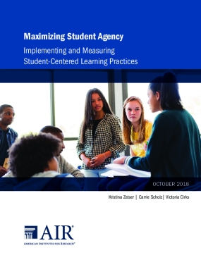 Maximizing Student Agency: Implementing and Measuring   Student-Centered Learning Practices