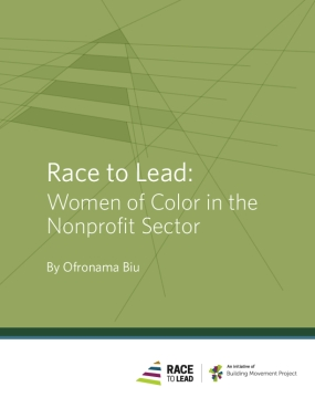 Race to Lead: Women of Color in the Nonprofit Sector