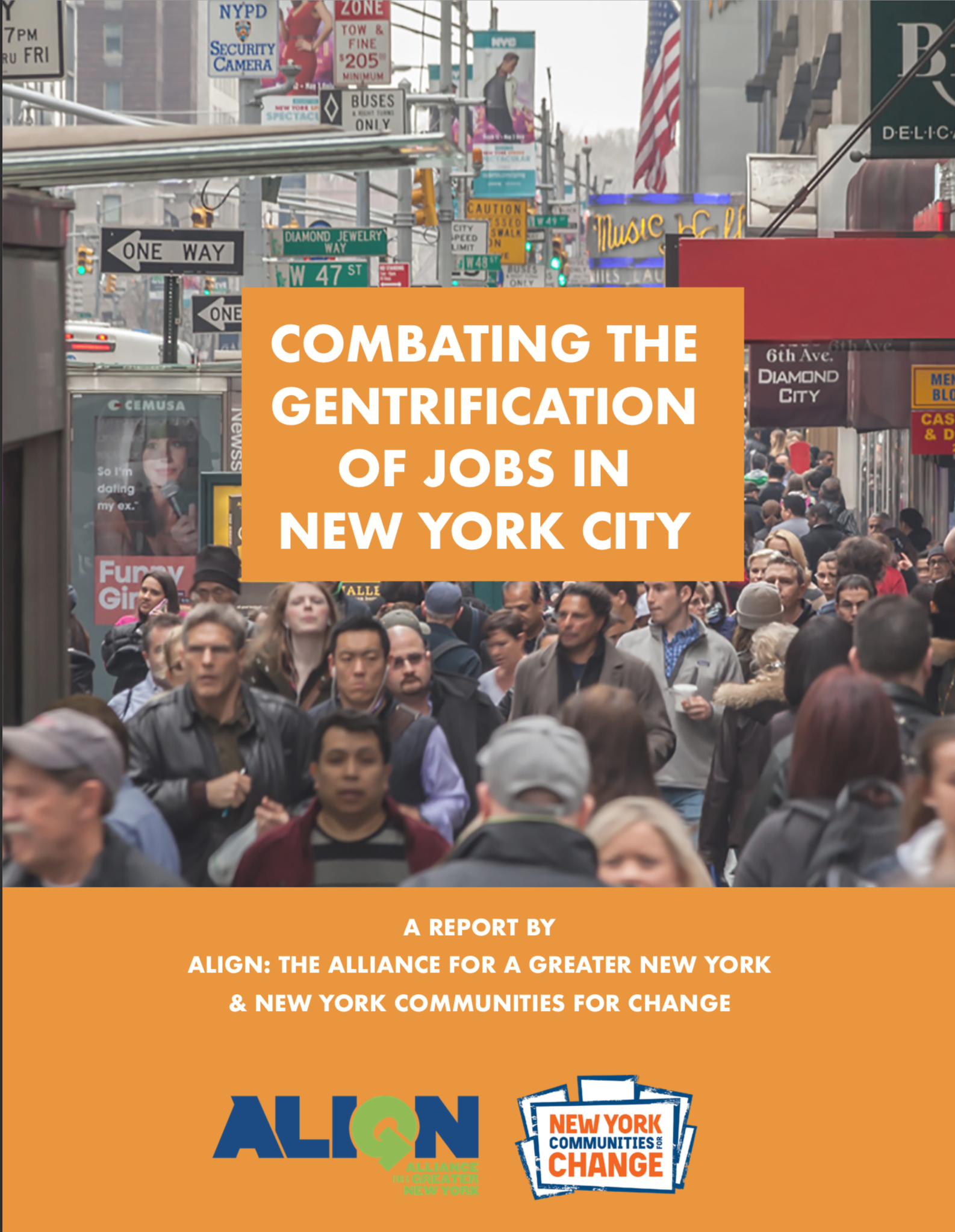 Combating the Gentrification of Jobs in New York City