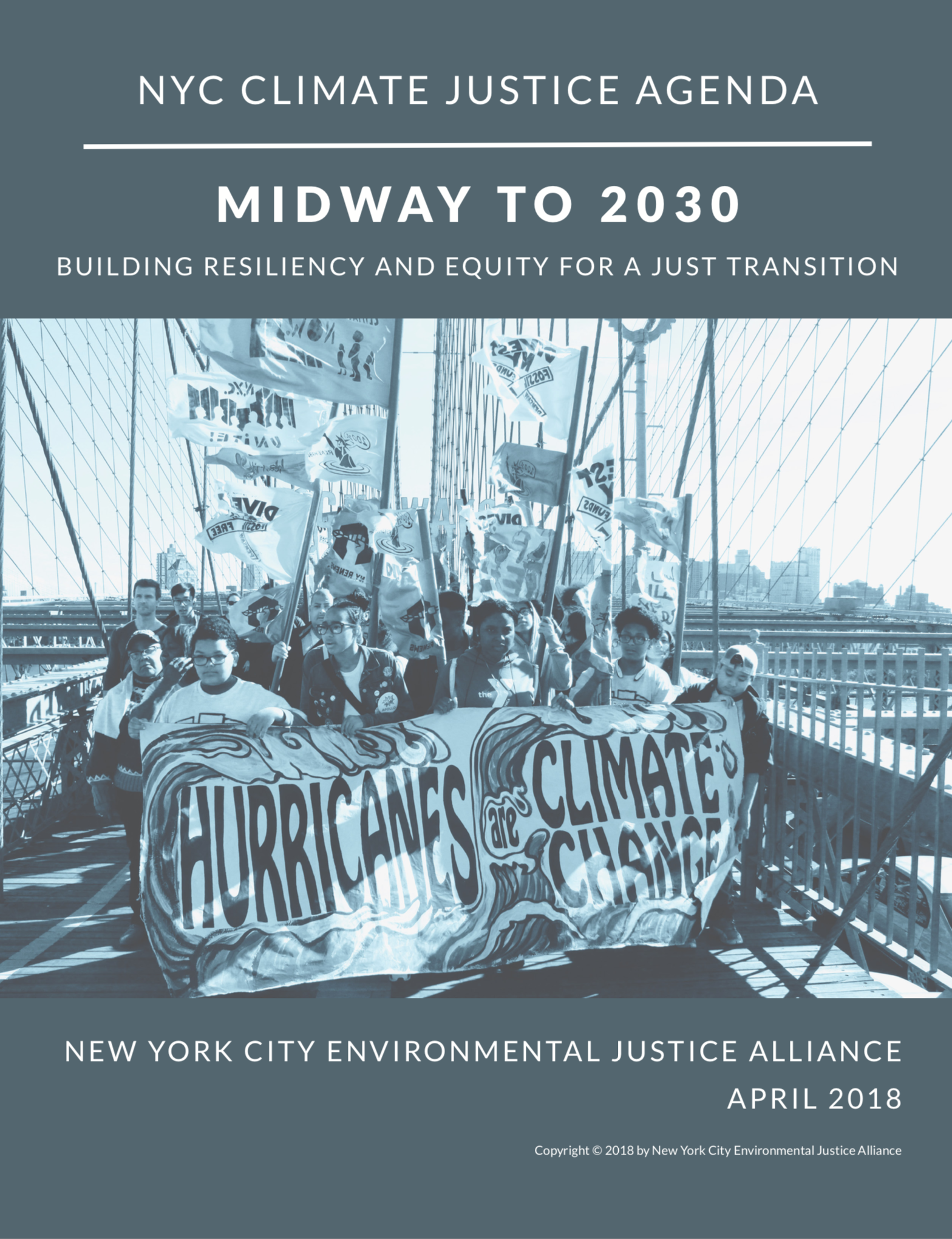 Midway to 2030: Building Resiliency and Equity for a Just Transition